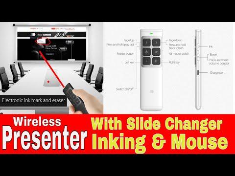 Doosl Wireless Presenter with Air Mouse & Digital Ink Pen | WAOOO |