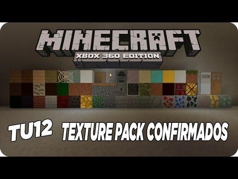MineCraft Xbox360 - TU12 Texture Packs Confirmados