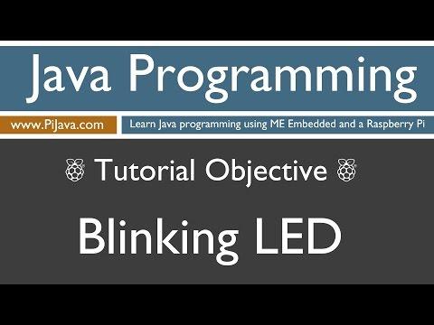 Java Programming on Raspberry Pi - Blinking LED