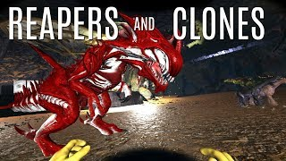 CLONING CHAMBER BUILD and Search For RED REAPER - Official 6 Man Tribes - ARK Survival