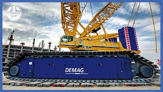 5 Largest CRAWLER Cranes In The World!