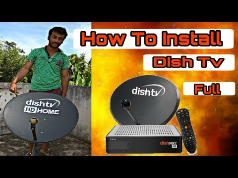 Dish TV installation || Dish Tv Antena Setup||Part-1