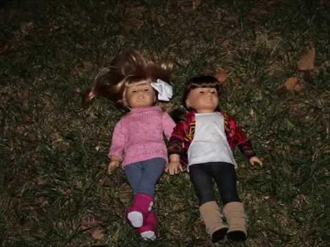 Star Gazing American Girl doll photo shoot
