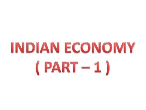 Indian Economy Part 1 (Hindi)
