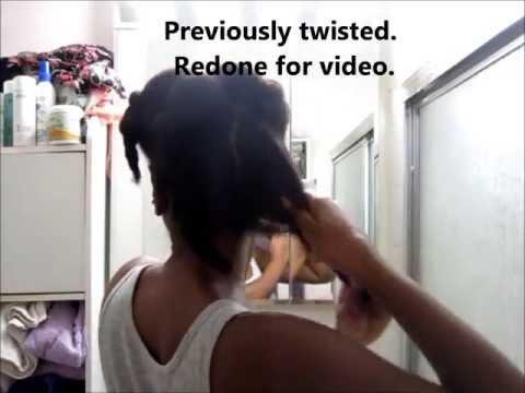 Wash & Go Type 4 hair - Natural Hair - Curl Prep Sweet Buttah