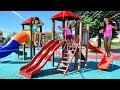 Download Video Download BELA E MAGU BRINCANDO no PARQUINHO com Surprizamals!! | Bela Bagunça 3GP MP4 FLV
