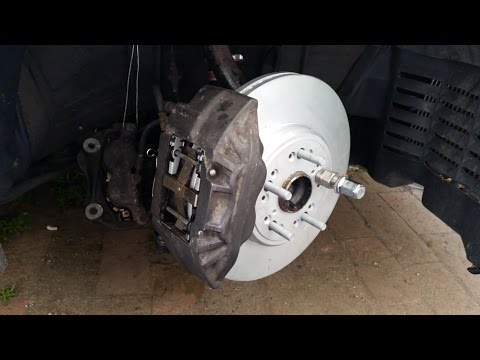 How to upgrade with low budget brakes on Toyota Aristo / Lexus GS 1997-2005