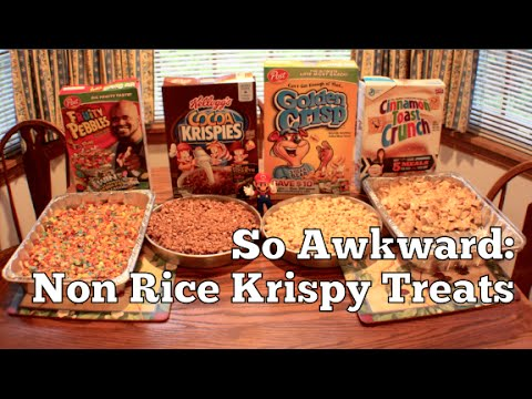 So Awkward: Non Rice Krispy Treats