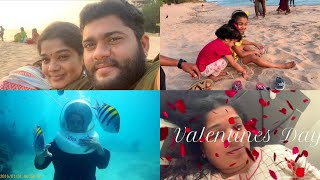 Our Funny Valentines Day Outing Vlog - Dining Out at Annai Resort