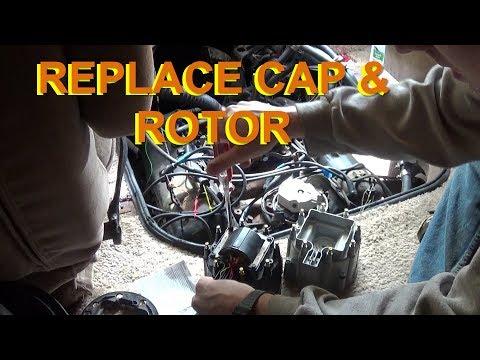 Replacing Chevy HEI Distributor Cap & Rotor