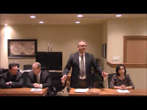 Example of a Utah  Temporary Orders Hearing  in a Divorce Case