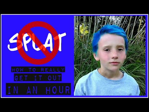 How to Really Remove Splat Hair Color In About an Hour