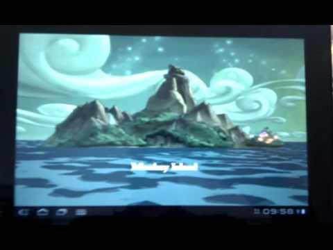 Monkey island 3 running on Sony Tablet S