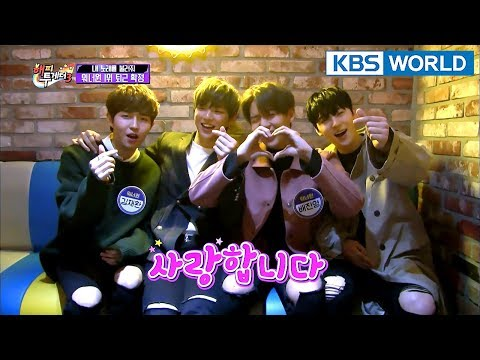 Wanna One is first to go home & too excited (Guys, calm down) [Happy Together/2018.01.25]