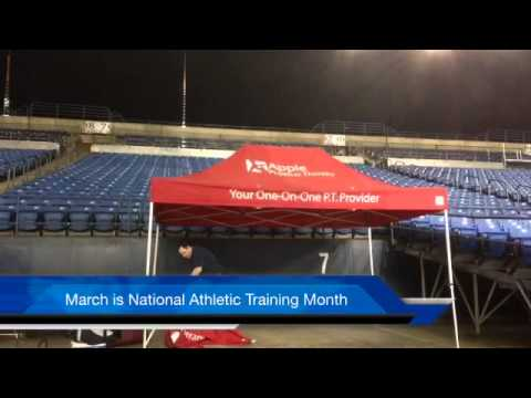 National Athletic Training Month - 2014