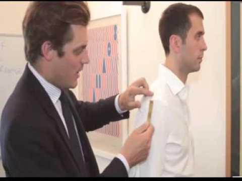 Suit Sleeve Length Measurement Guide