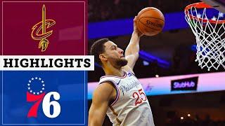 Sixers Vs Cavaliers December 7 2019 Highlights amp Sound NBC Sports Philadelphia