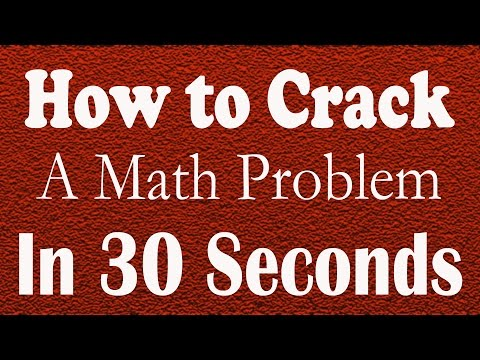 How to crack a math problem in 30 seconds |Maths Shortcuts for iit I Eamcet |NEET | free math videos