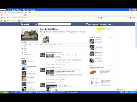 How to change a website URL in your Facebook Profile tutorial video.