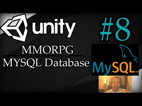Unity 3D Tutorial #8: MMORPG | MySQL Database Connection