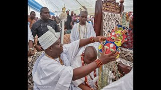 Ooni Of Ife, Oba Enitan Ogunwusi Crowns A New King For Apomu Town
