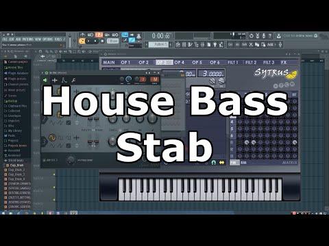 House Bass Stab Tutorial in FL Studio