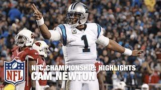Cam Newton Highlights Nfc Championship Cardinals Vs Panthers Nfl