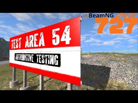 BEAMNG DRIVE #727 I Area 54 I Let's Play BeamNG Drive mit GCG [Alpha] [HD]