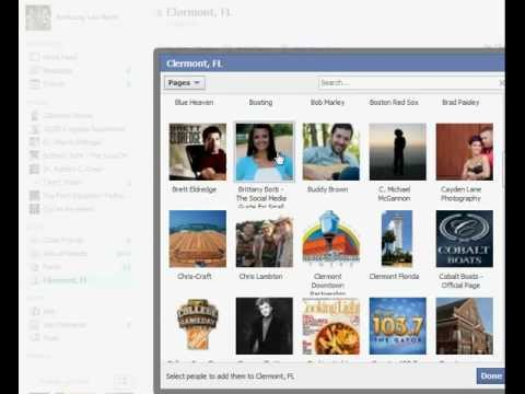 How to Create a Facebook List for Your Pages