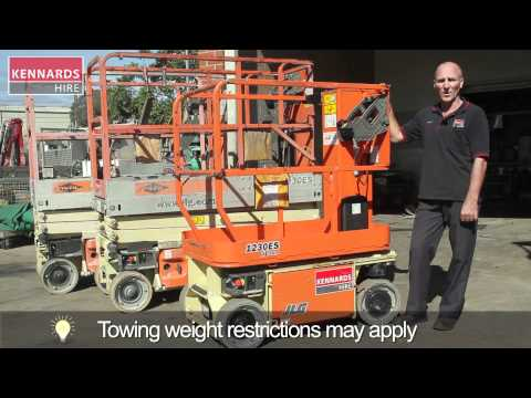 Scissor Lift and Manlift - Types and Operation