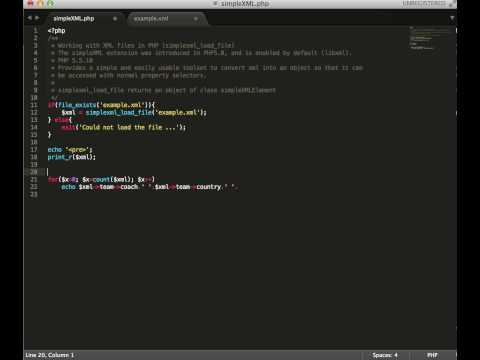XML with PHP