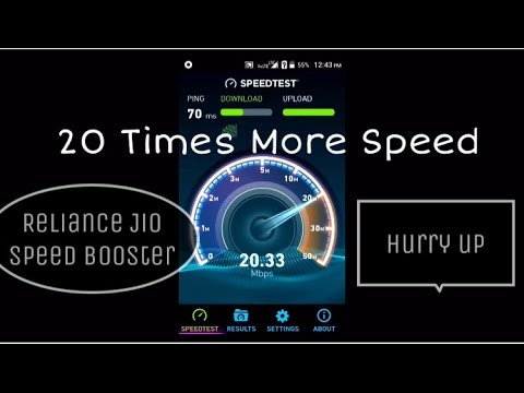 [100% Working] How To Increase Reliance Jio Downloading Speed [With Proof]