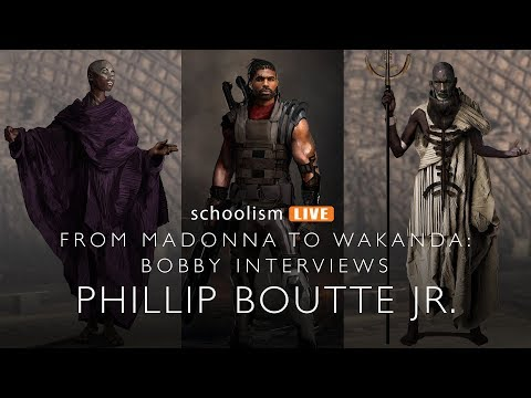From Madonna to Wakanda: Bobby interviews Phillip Boutte Jr.