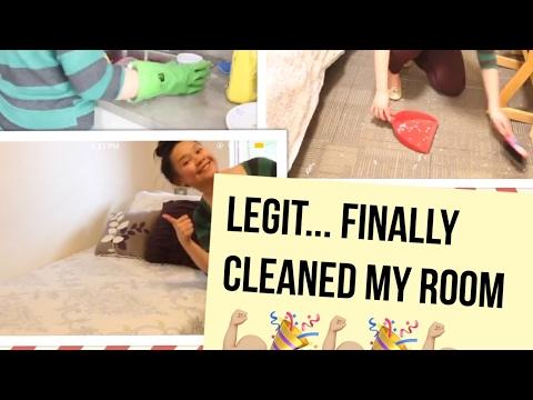 CLEAN MY UBC DORM ROOM WITH ME!!!