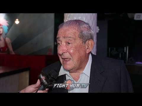 BOB ARUM REACTS TO CANELO DRUG TEST