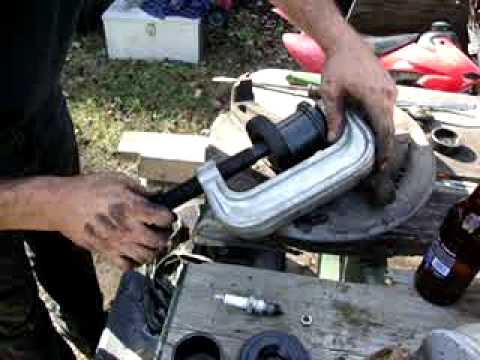 replacing 93 ford f150 ball joints part 2 of 4