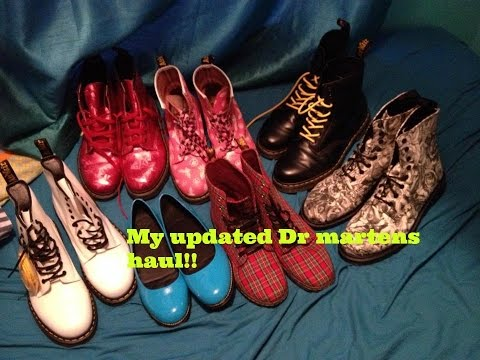 Update || Dr martens collection
