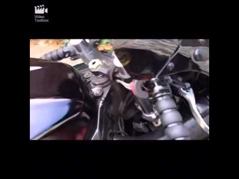 How to remove and instal grips on a Gsxr (sport bike)