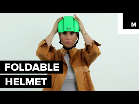 This Helmet Automatically Adjusts to the Size of Your Head