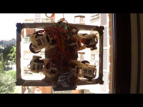 Passive suction cups window cleaning climbing robot - vertical window
