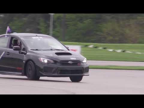 Travis Pastrana Drifting a 2018 WRX STI at One Lap of America