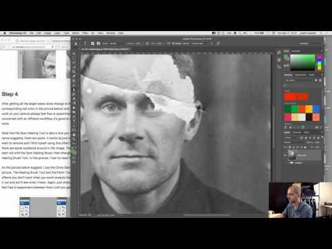 Exercise 1 Tutorial Part 1 Photoshop Restoration Basics