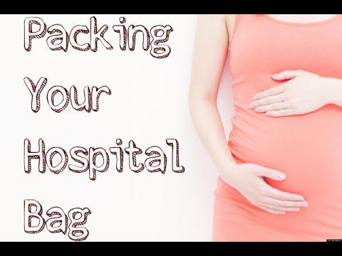Mommy & Baby Hospital bag