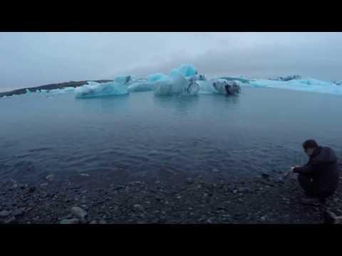 Jökulsárlón (Glacier Lagoon) in Iceland