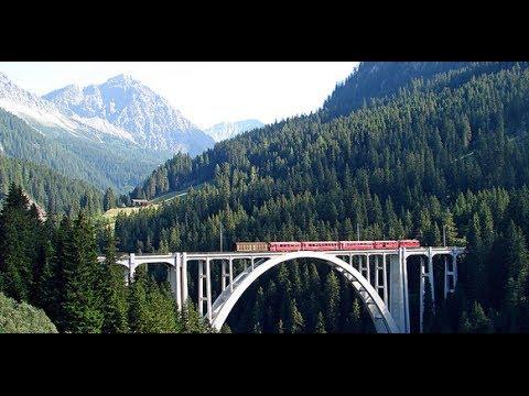 Switzerland by train, Lausanne - Visp - Zermatt