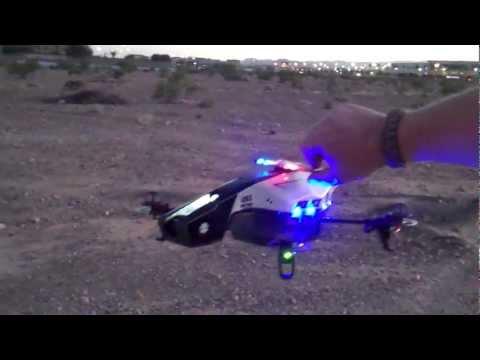 AR Drone 2.0 Police Light kit from SDT info