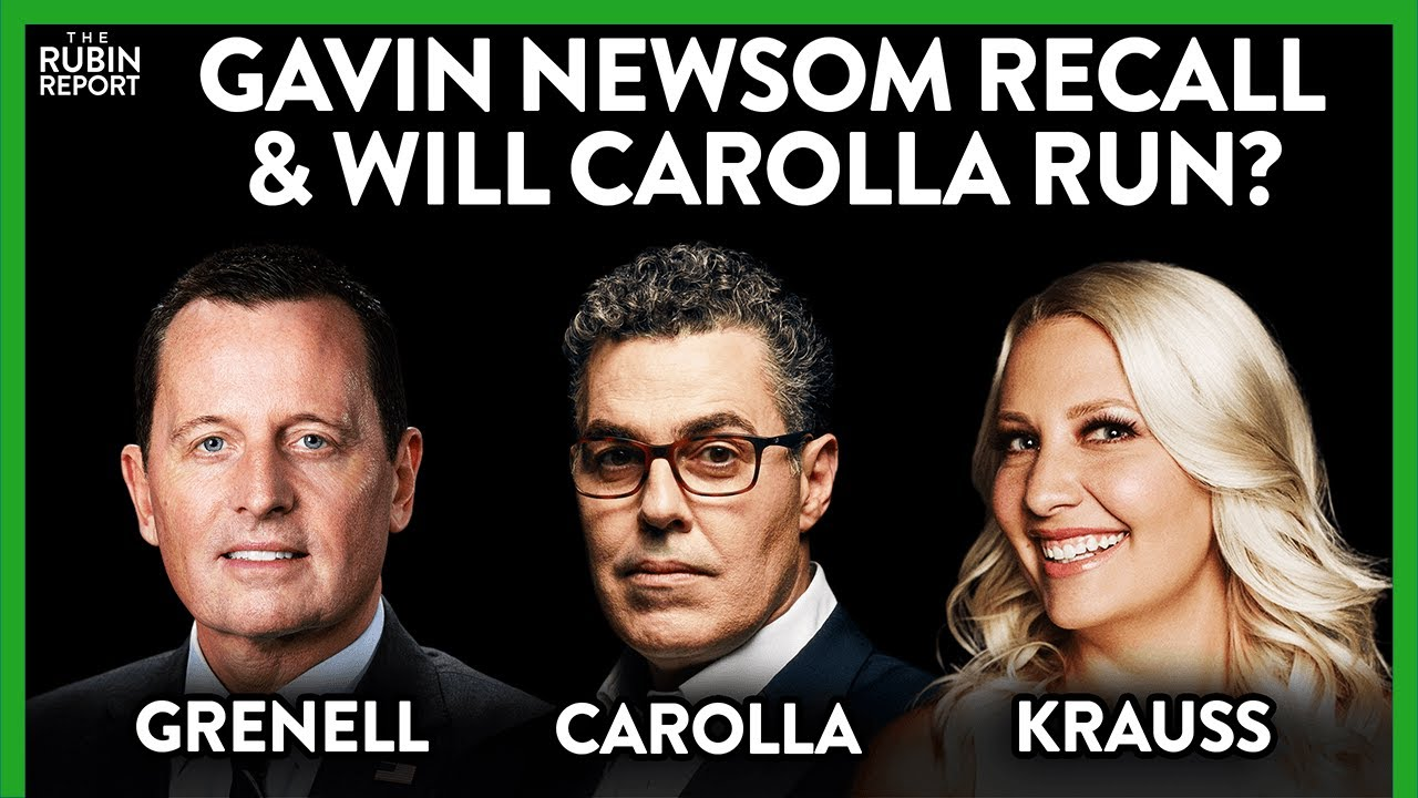 Can California Be Saved? Adam Carolla, Richard Grenell, Elisha Krauss | ROUNDTABLE | Rubin Report