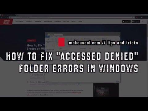 How to Fix Folder
