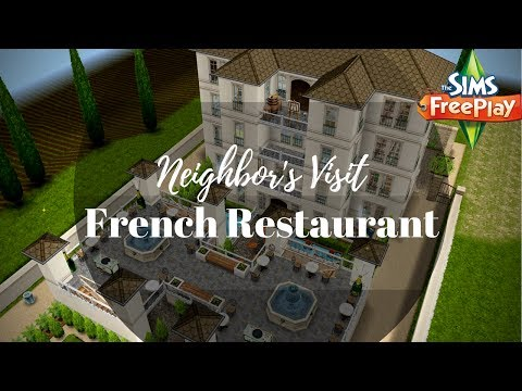 French Restaurant By Chanel Santosas | Sims FreePlay