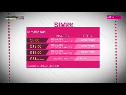 T-Mobile Guide to SIM-only deals